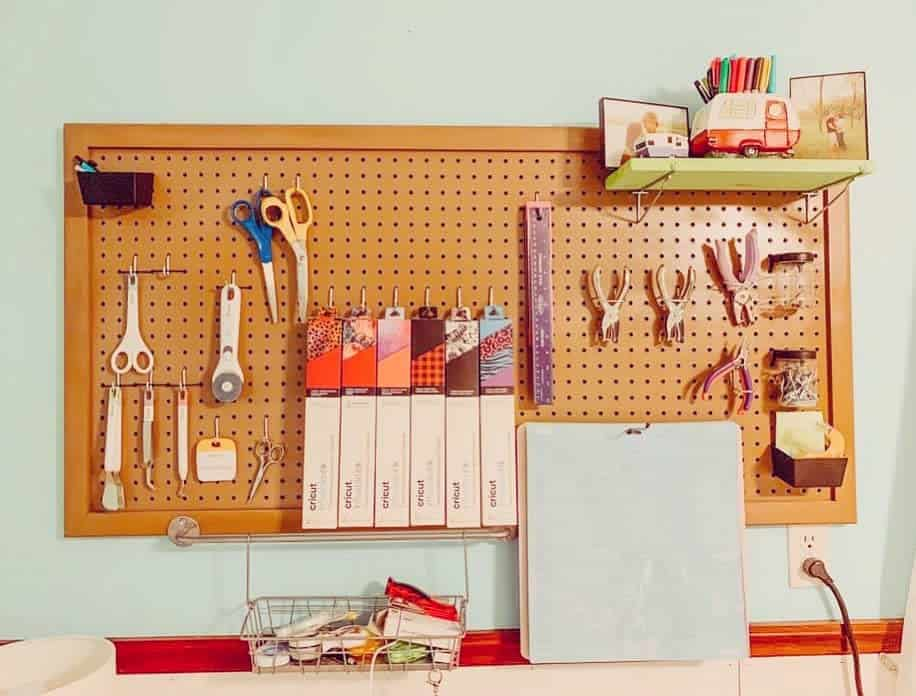 pegboard work bench ideas our_1890s_house