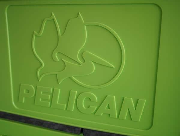 Pelican 20 Qt Elite Molded Brand On Inner