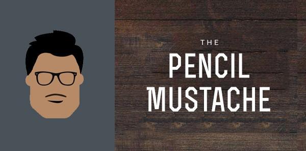 Pencil Mustache Styles