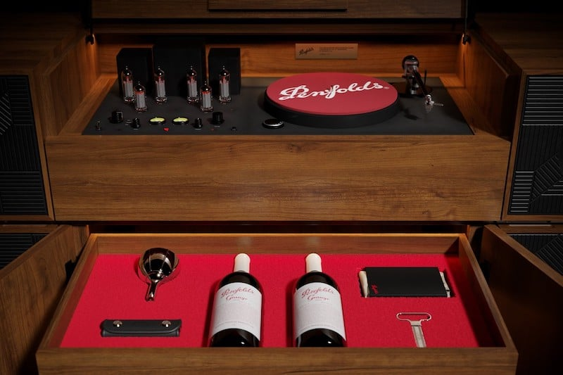 Penfolds Celebrates 70 Years of Grange With Limited Edition Record Player