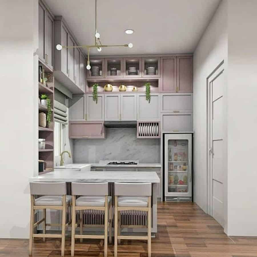 peninsula kitchen bar ideas hommy_livingbandung