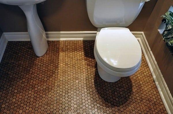 Penny Floor Bathroom Design