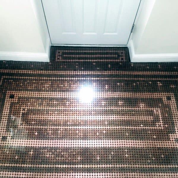 Penny Floor Pattern Ideas