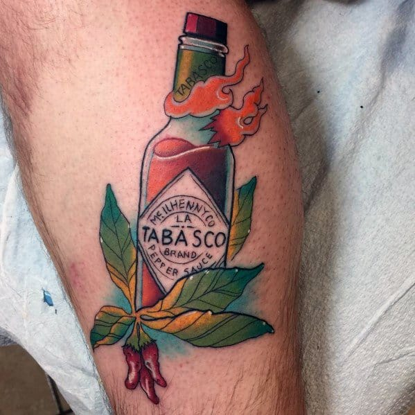 Pepper Tattoo For Men