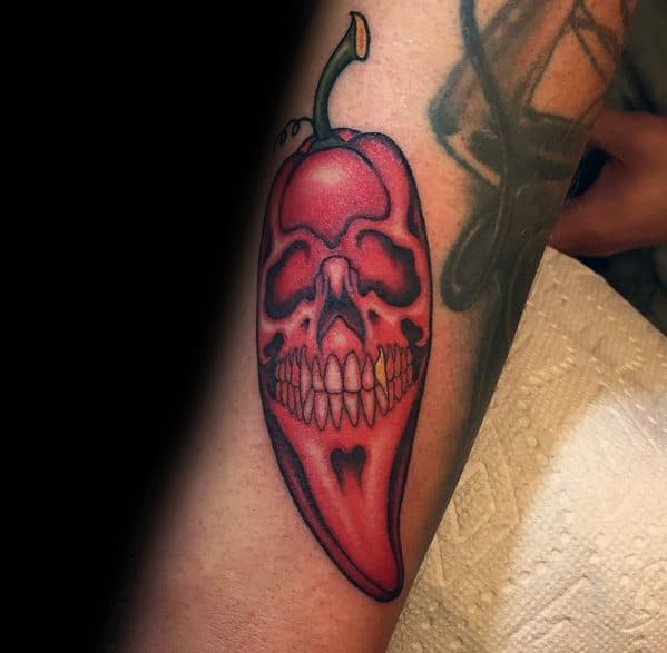 Pepper Themed Tattoo Design Inspiration