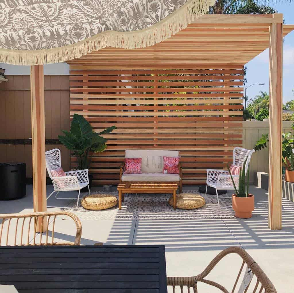 pergola patio shade ideas abadconstruction