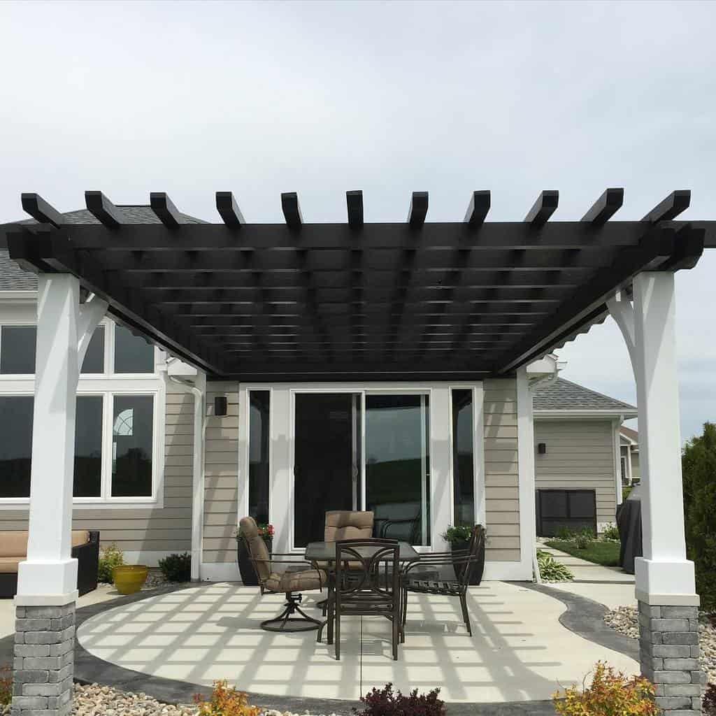 pergola patio shade ideas outdoorliving.life