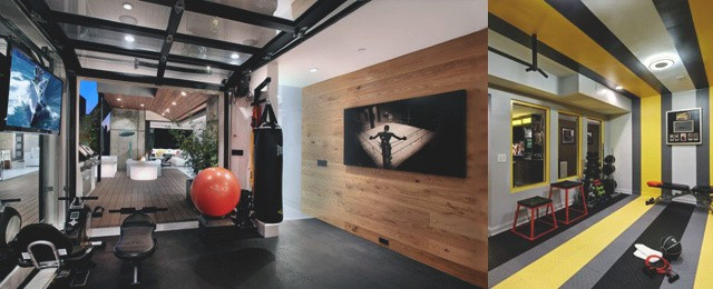 Personal home gym design ideas for men