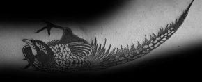 40 Pheasant Tattoo Designs For Men – Bird Ink Ideas