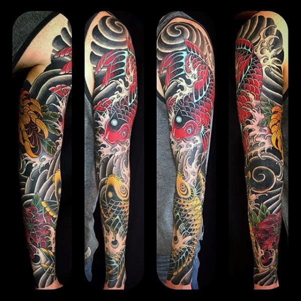 Phenomenal Japanese Sleeve Tattoo Males