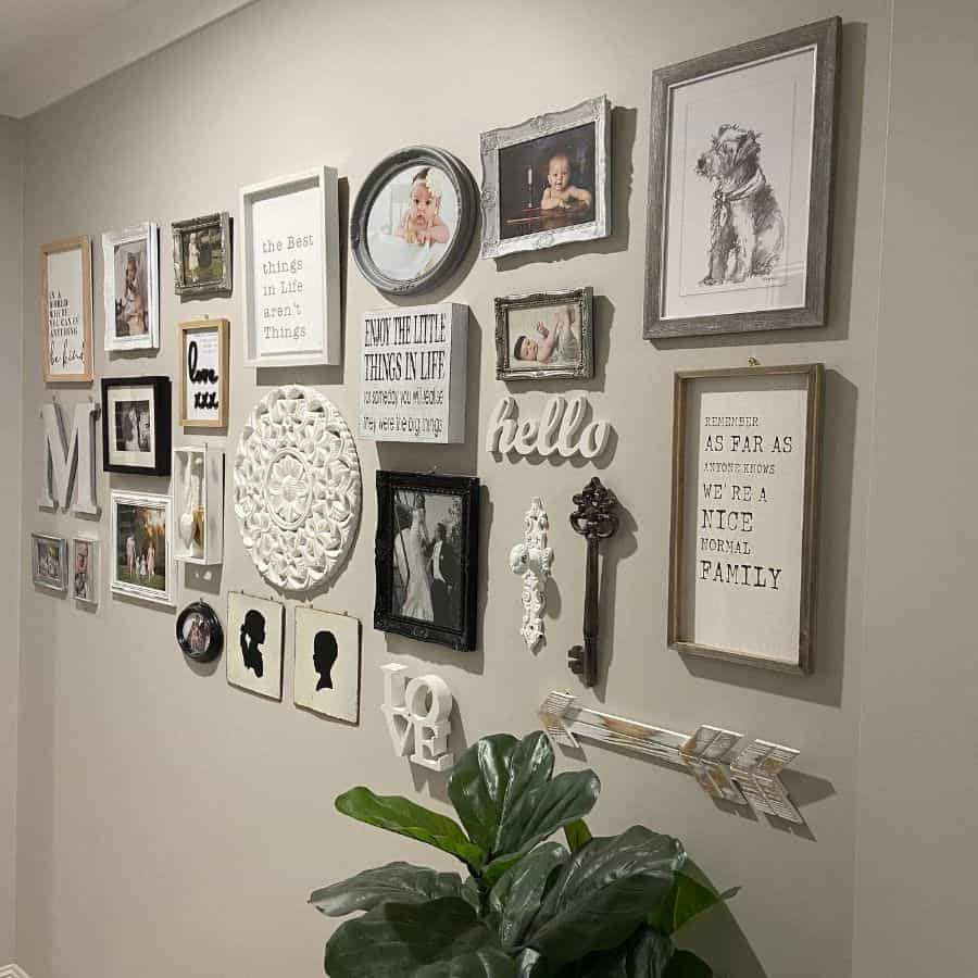 Photo And Art Decor Picture Wall Ideas Jessicarosemuller