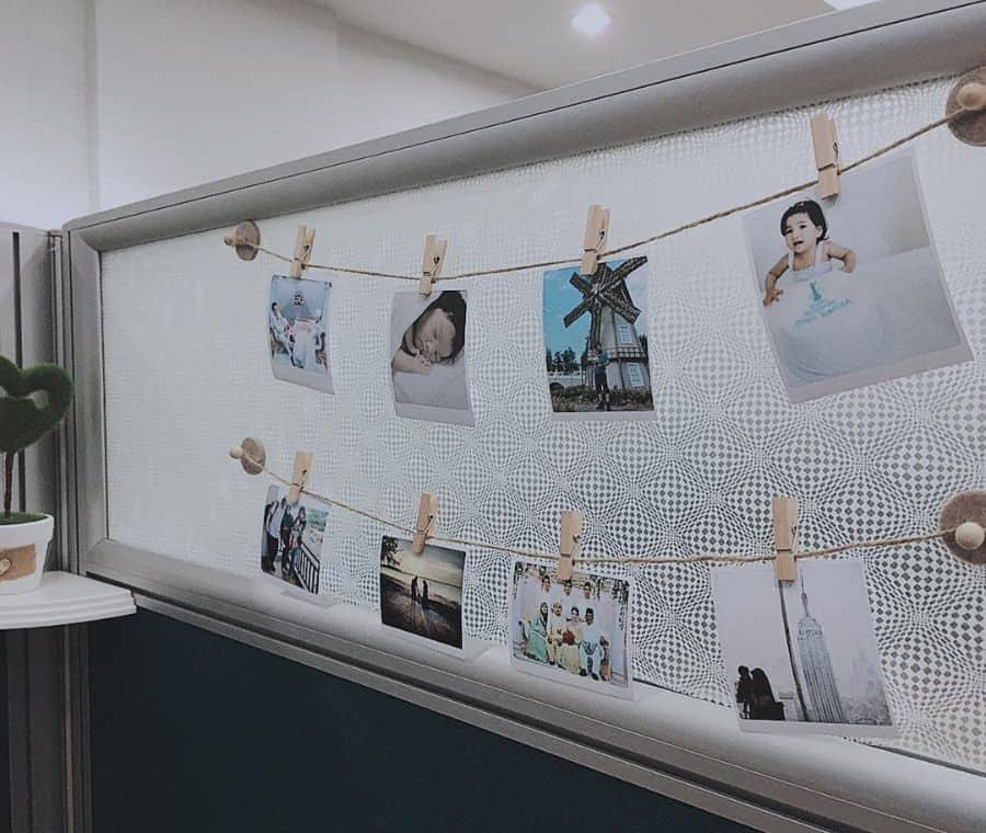 Photo Wall Cubicle Decor Syuha.dean