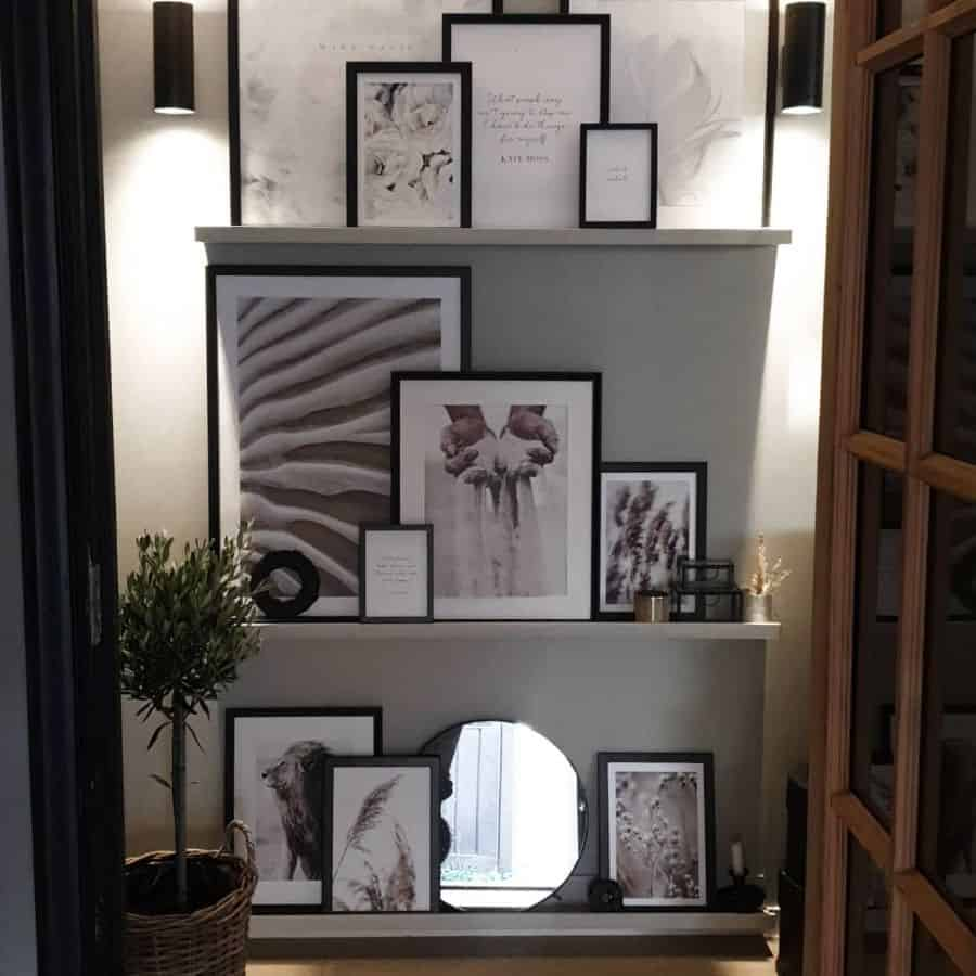 Picture Wall Ideas With Shelf Av.kathe