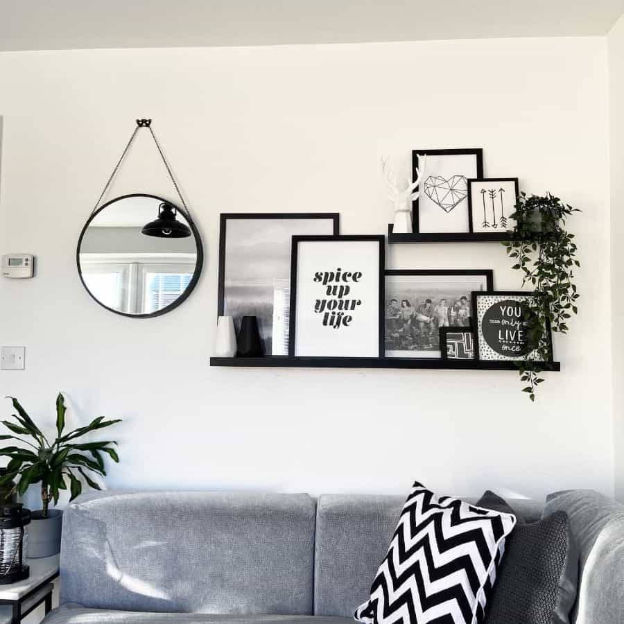 Picture Wall Ideas With Shelf Foxtonhome
