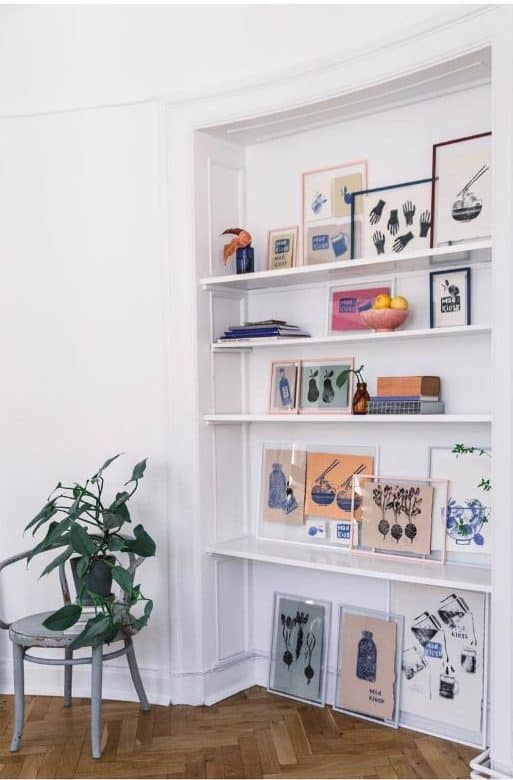 Picture Wall Ideas With Shelf Mad.kiosk