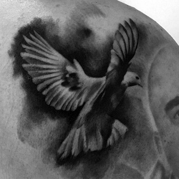 Pigeon Male Tattoo Designs