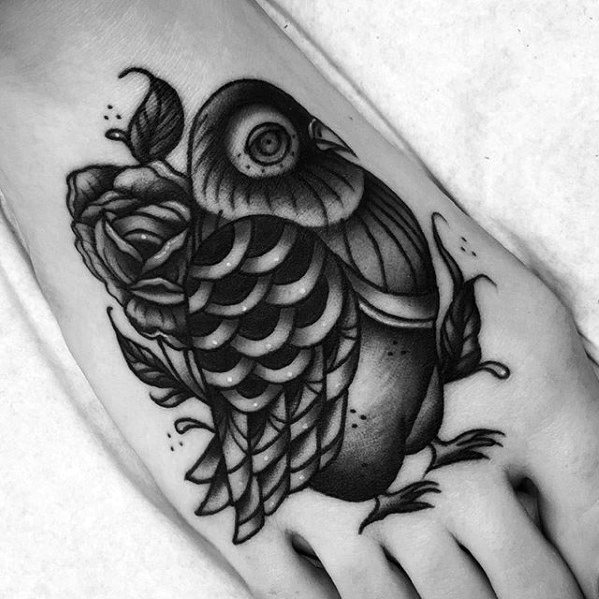 Pigeon Tattoo Ideas For Males