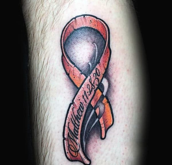 Top 71 Cancer Ribbon Tattoo Ideas 2020 Inspiration Guide