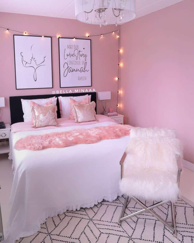 pink cute bedroom ideas bella.minaaa
