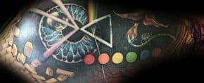 80 Pink Floyd Tattoos For Men – Rock Band Design Ideas
