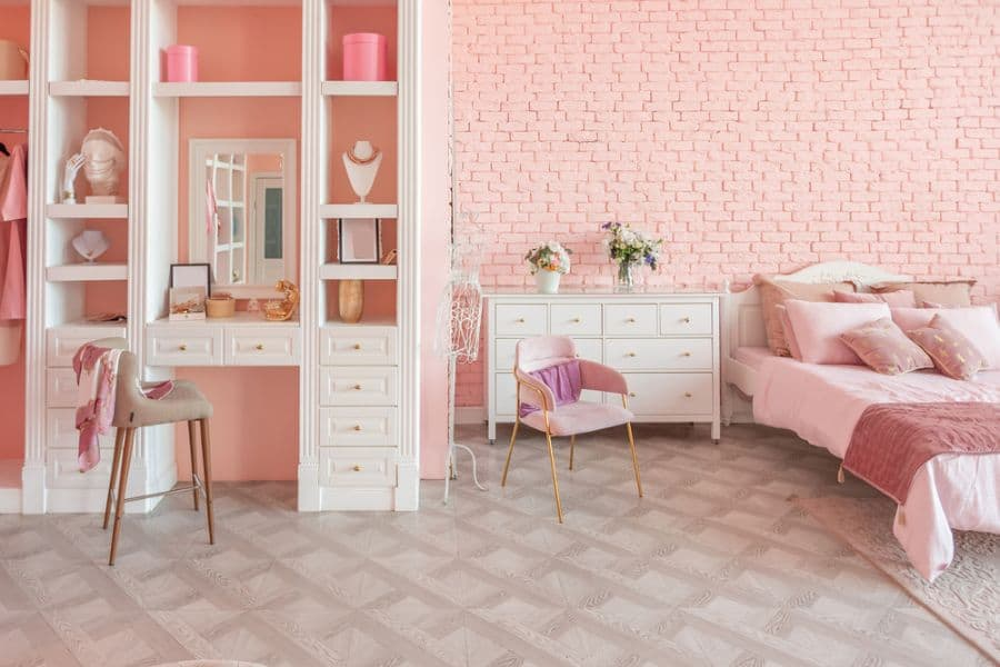 Pink Girls Bedroom Ideas 1