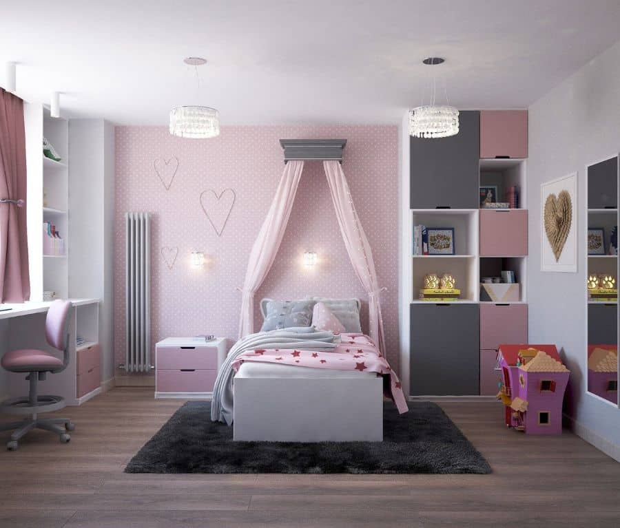 Pink Girls Bedroom Ideas 2