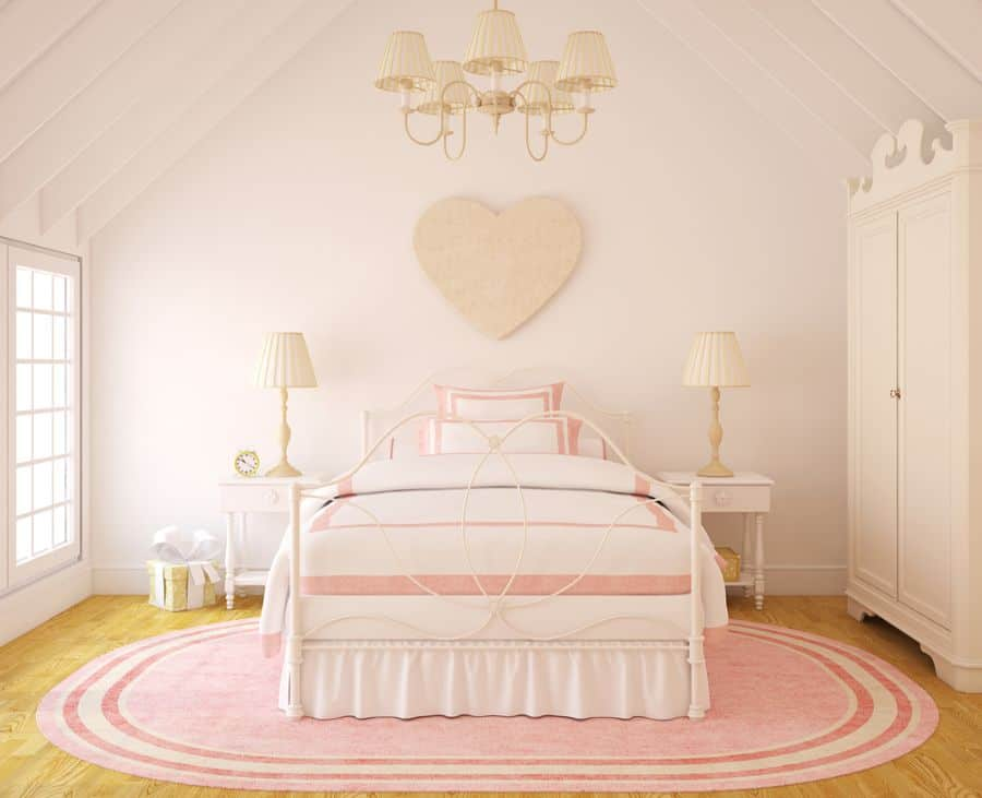 Pink Girls Bedroom Ideas 3