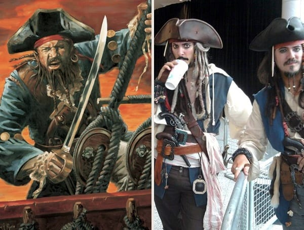 Pirate Halloween Costumes For Men With Beards