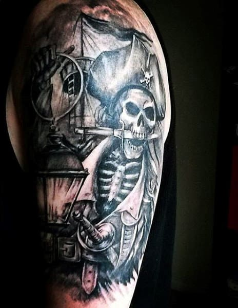 Pirate Tattoo Sleeves For Males