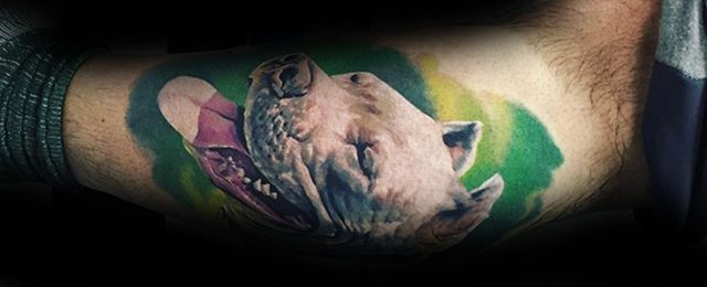 50 Pitbull Tattoo Designs For Men – Dog Ink Ideas