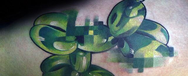 Pixel Tattoo Designs For Men