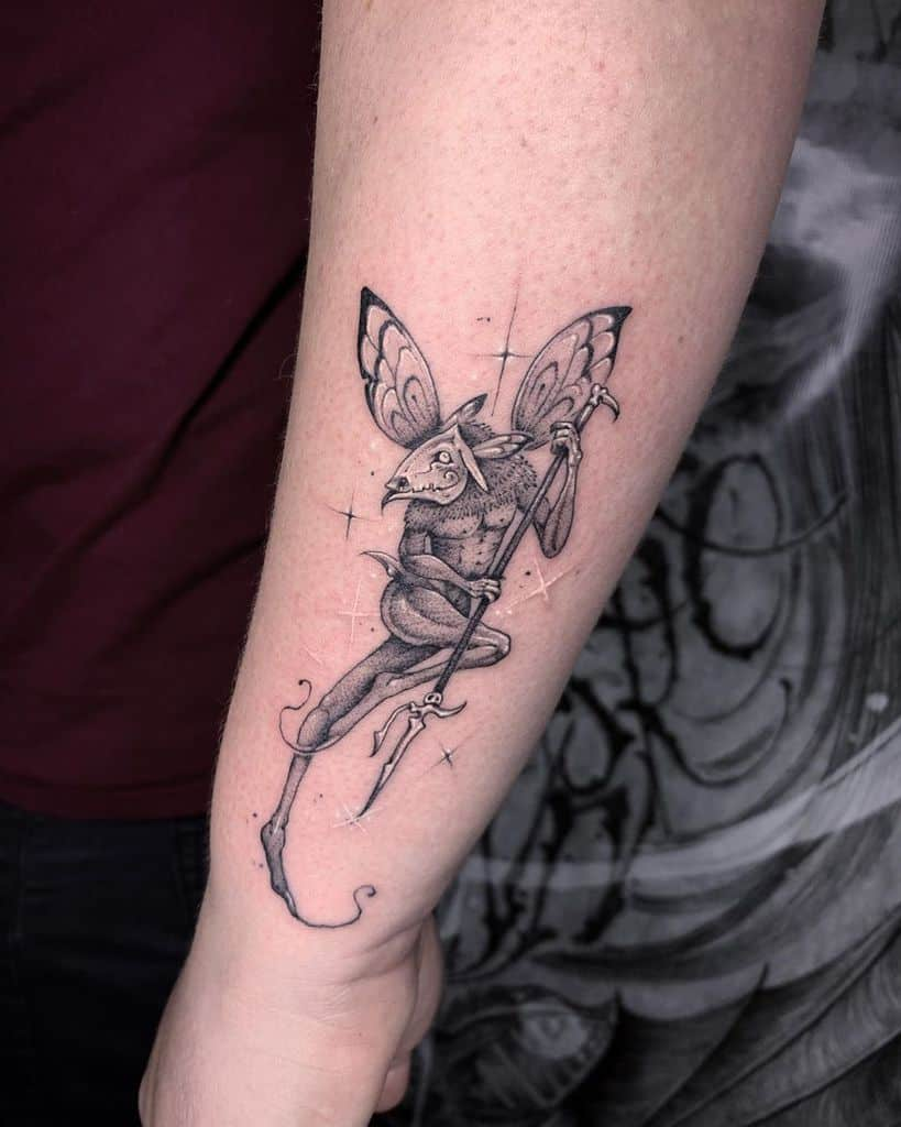 Pixies And Fairy Totems Tattoo