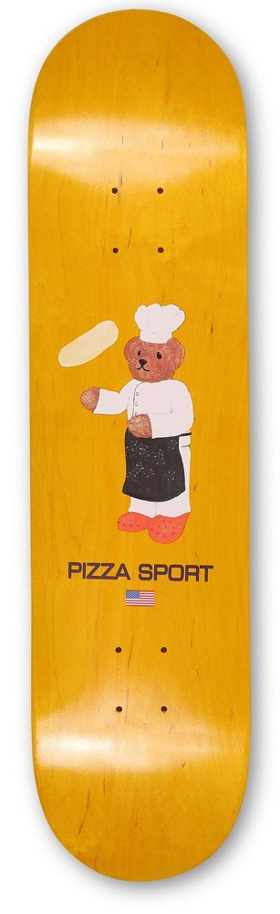 pizza sport chef deck yellow color