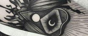 40 Planchette Tattoo Designs For Men – Ouija Board Ink Ideas
