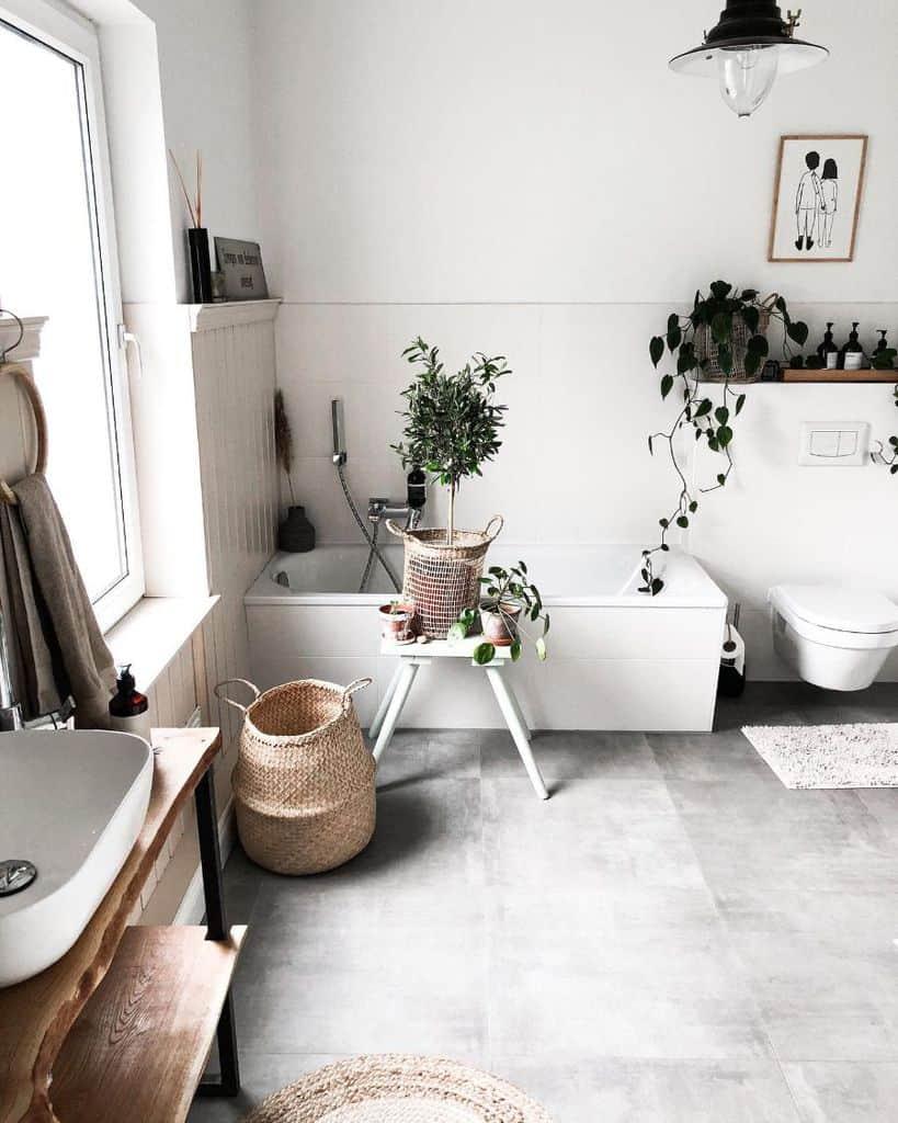 Plant Decor Bathroom Decor Ideas Snyggehygge