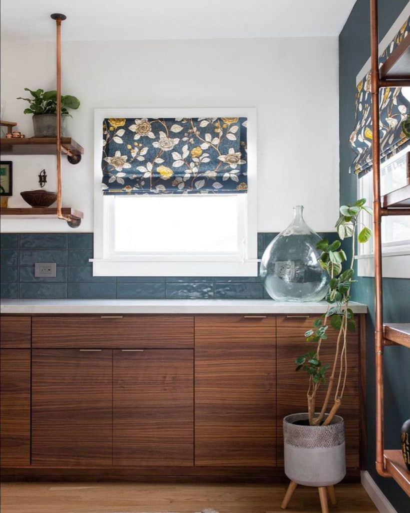 plant decor kitchen decor ideas mollyerindesigns