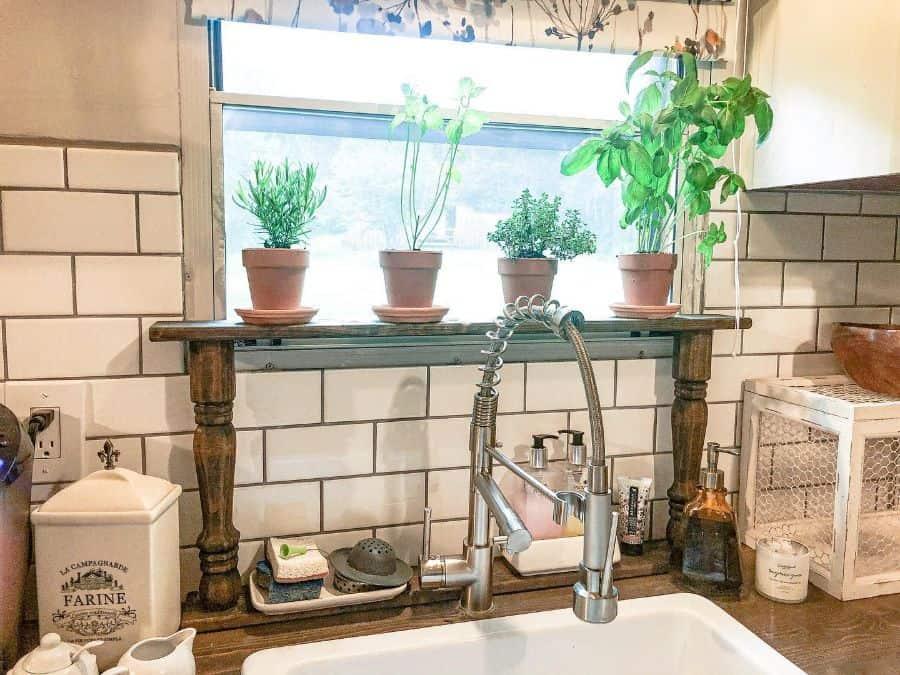 plant decor kitchen decor ideas simplyhollishomedecor