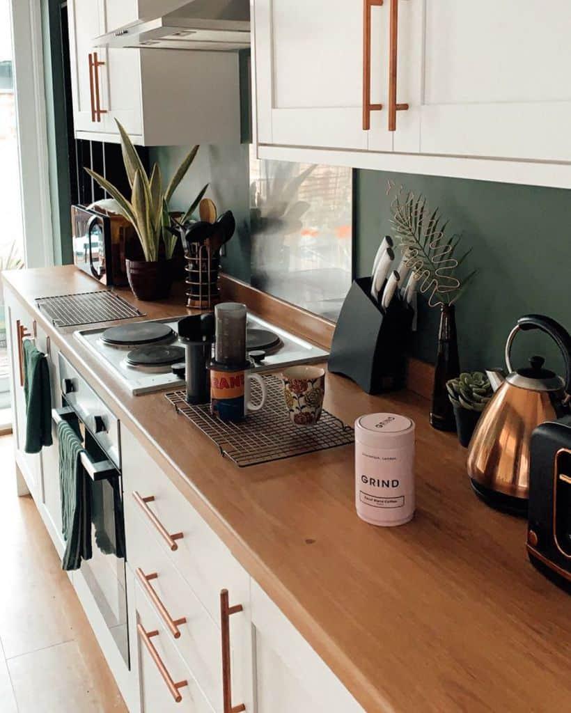 plant decor kitchen decor ideas the_martin_manor