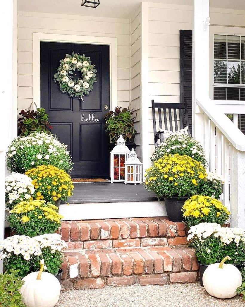 Plant Display Porch Ideas Homehydrangea