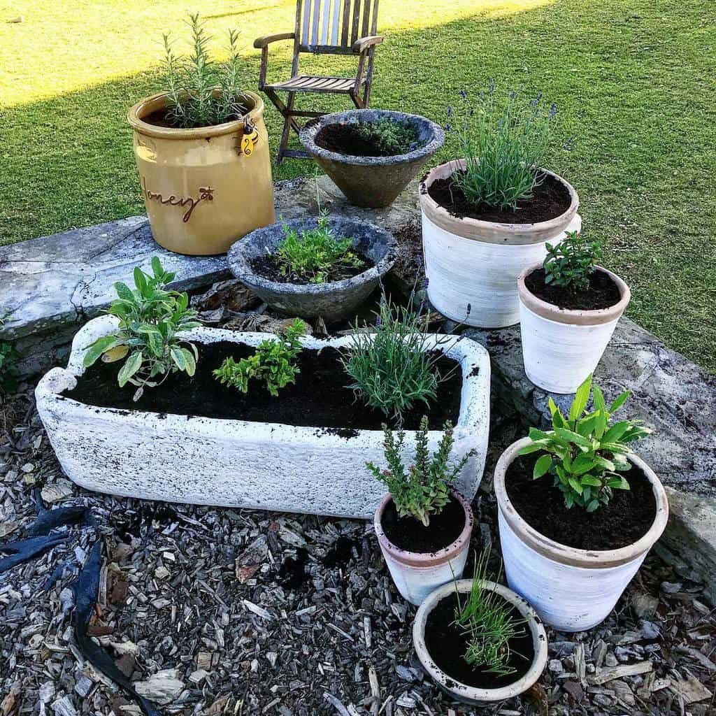 planter ideas herb garden ideas sustainablywelsh