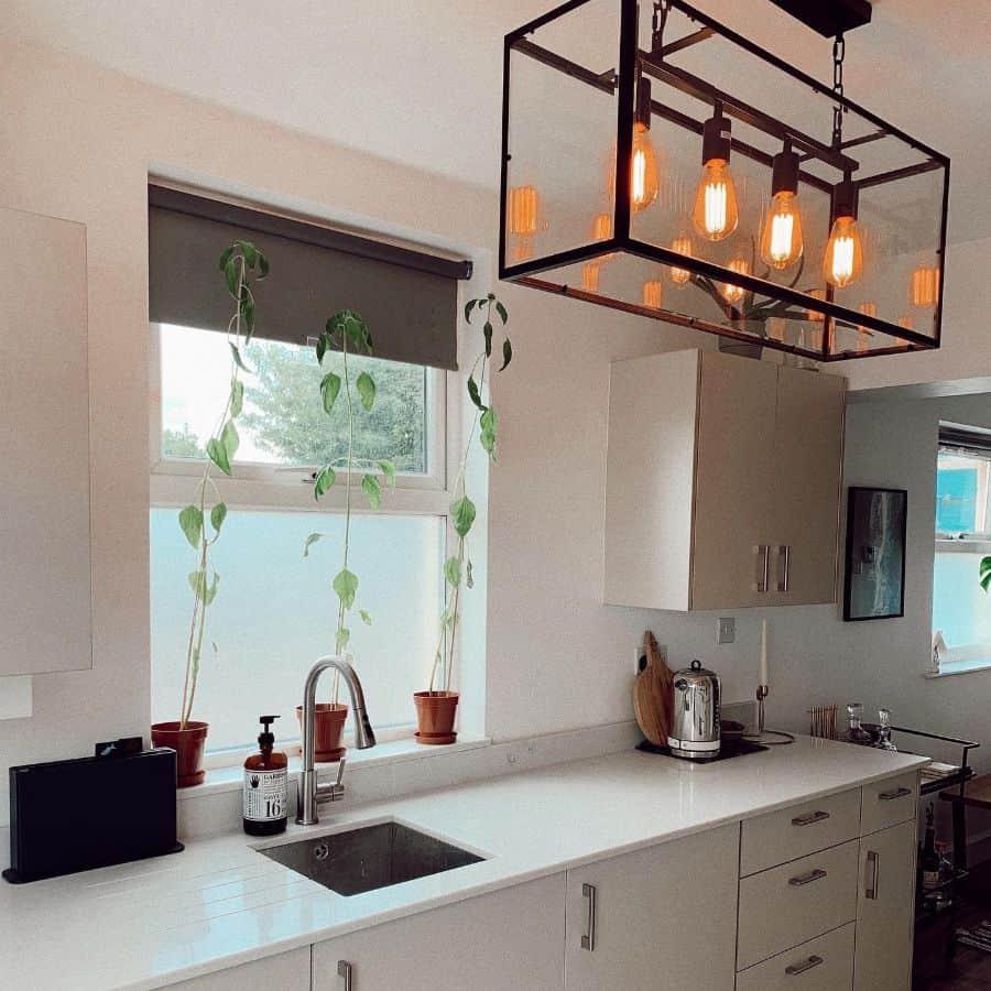 plants kitchen window ideas hartshouse28