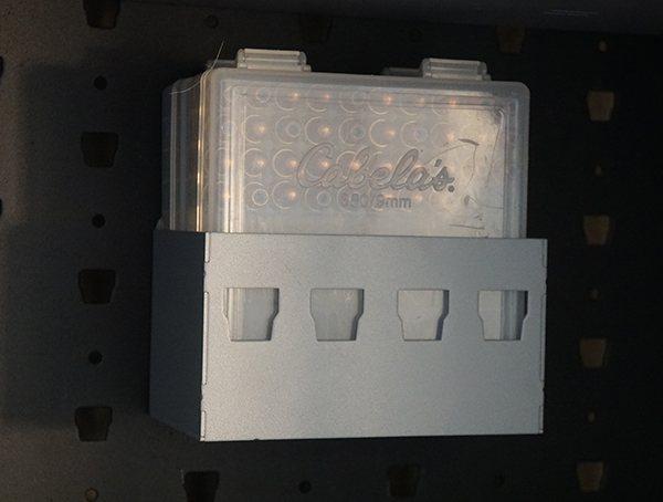 Plastic Ammo Boxes Gun Cabinet Hanger