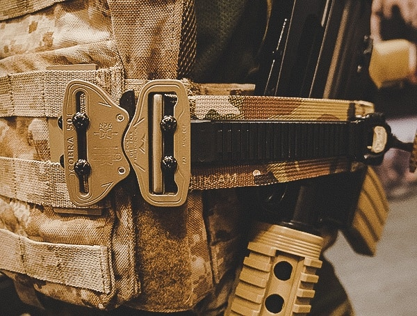 Plate Carrier With Cobra Buckle And Quick Release Side Buckle