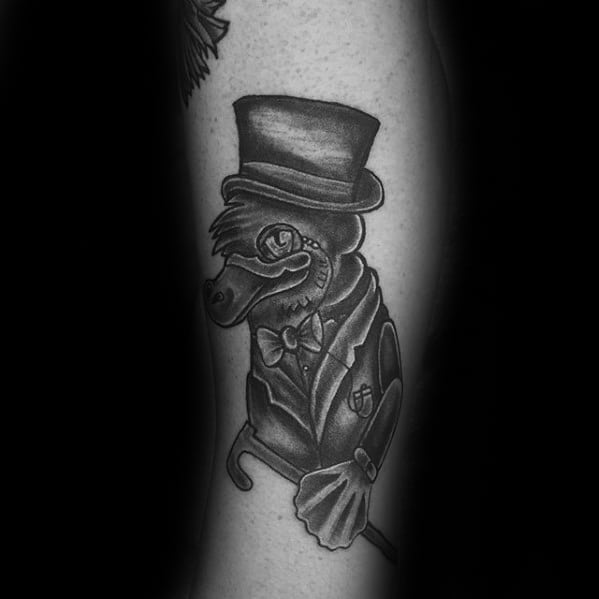 Platypus Tattoo Ideas For Males On Arm