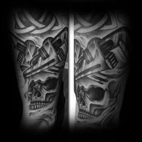 Plumbing Male Tattoos
