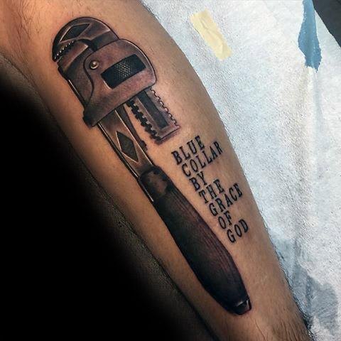 Plumbing Mens Tattoo Ideas