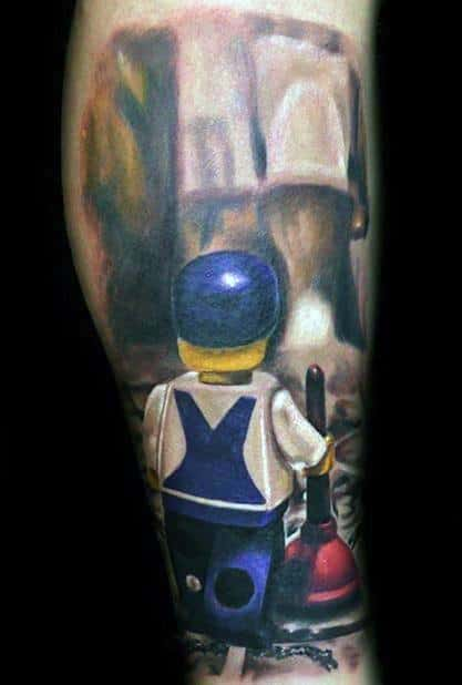 Plumbing Tattoo Designs For Guys