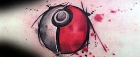 50 Pokeball Tattoo Designs For Men – Pokemon Ink Ideas