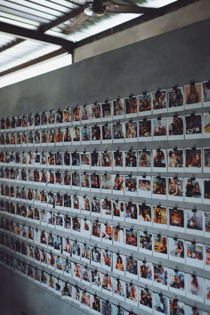 Polaroid Photo Wall Picture Wall Ideas 1