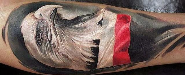 Polish Eagle Tattoo Designs For Men